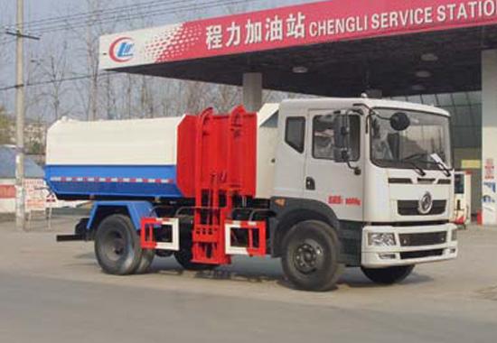 东风新款10方挂桶垃圾车