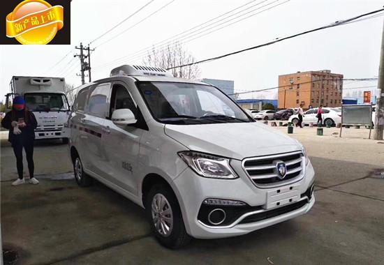 福田ix5面包冷藏车